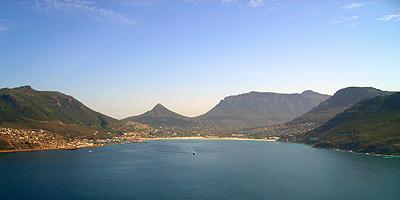 Hout Bay in der Nähe von Kapstadt