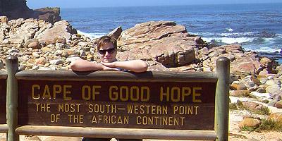 Jens am Kap der Guten Hoffnung