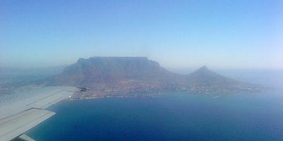 Landeanflug auf Kapstadt