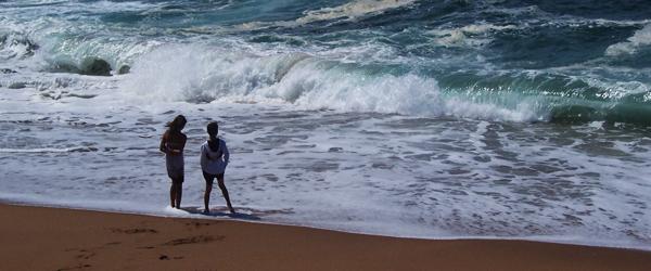 Am Indischen Ozean © Foto: Ulrike Pârvu   Outback Africa Erlebnisreisen