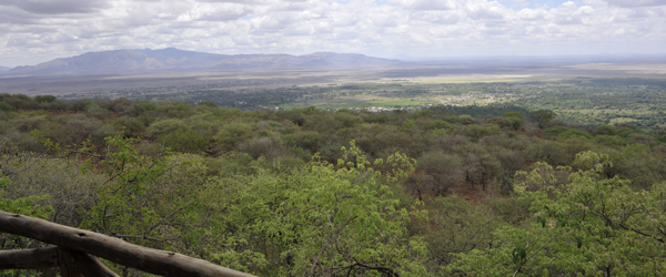 Blick von der Kirurumu Tented Lodge © Foto: Svenja Penzel   Outback Africa Erlebnisreisen