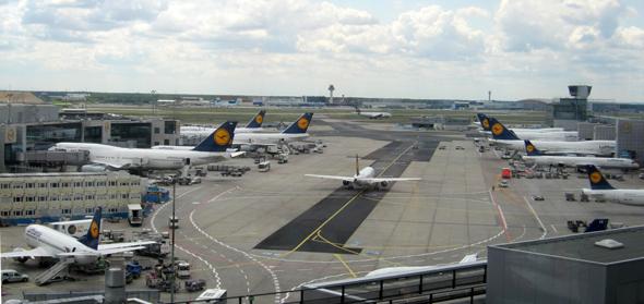 Flughafen Frankfurt © Foto. Susanne Schlesinger | Outback Africa Erlebnisreisen