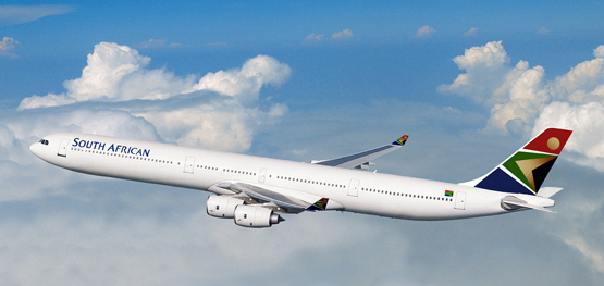 South African Airways A 340