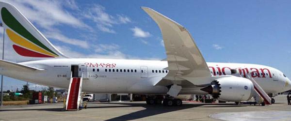 Der erste Ethiopian-Dreamliner bei der Übergabe in Washington © Foto: Ethiopian Airlines