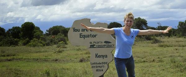 Am Äquator © Foto: Outback Africa Erlebnisreisen