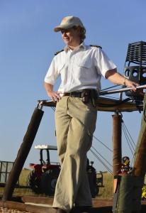 Elly Kirkman, die verwegene Ballonpilotin © Foto: S. Schlesinger | Outback Africa Erlebnisreisen