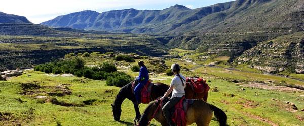 Reitausflug in Lesotho © Foto: Doreen Schütze | Outback Africa Erlebnisreisen
