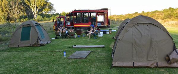 Kami'Bati River Resort, Campingplatz nahe Stellenbosch © Foto: Doreen Schütze | Outback Africa Erlebnisreisen