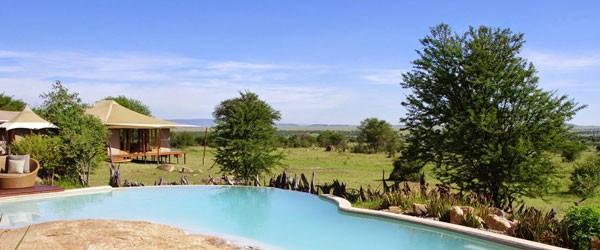 Pool des Sayari Camp © Foto: Judith Nasse | Outback Africa Erlebnisreisen