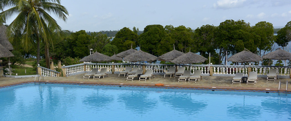 Poolbereich des Temple Point Resort © Foto: S. Schlesinger | Outback Africa Erlebnisreisen
