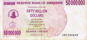 Simbabwe-Dollar