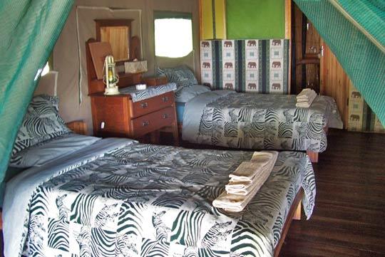 Edos's Camp (Botswana)   Foto: Ulrike Pârvu, Outback Africa Erlebnisreisen