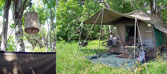 Mobile Camping mit Letaka Safaris in Botswana. | © Foto: Ulrike Pârvu / Outback Africa Erlebnisreisen