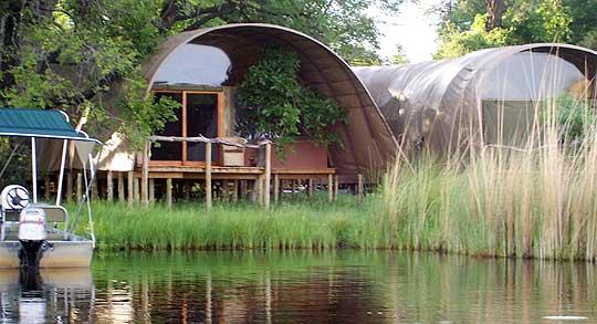 Okuti Camp, Botswana