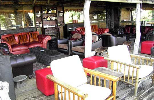 Die Lounge mit ihren bequemen Möbeln lädt zum Ausruhen ein. © Foto: Jens Döring
