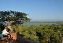 Bumi HIlls Lodge, Aussicht auf den Lake Kariba