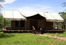Migration Camp, Hauptzelt  © Foto: Judith Nasse | Outback Africa Erlebnisreisen
