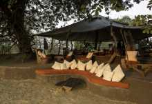Tena Tena Camp, Lounge  © Foto: Robin Pope Safaris