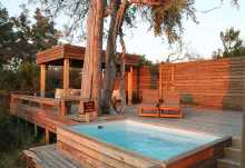 Vumbura Camp, Pool  © Foto: Ulrike Pârvu | Outback Africa
