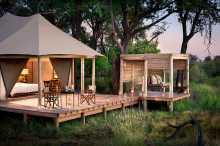Zeltsuite, Nxabega Okavango Tented Camp  © Foto: Dookphoto | &Beyond