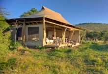 Kichwa Tembo Camp, Zeltchalet  © Foto: Stevie Mann for &Beyond