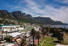 The Marly Hotel, Blick auf das Hotel und das Tafelbergmassiv  © Foto: The Marly Hotel