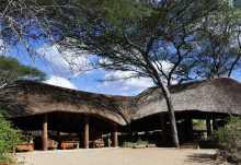 Olivers Camp, Hauptgebäude  © Foto: Svenja Penzel   Outback Africa