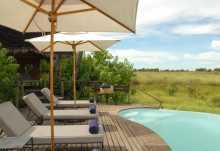 Pool des Baines' Camp, Okavango-Delta, Botswana