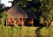 Kafunta River Lodge im South Luangwa Nationalpark, Sambia