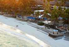 Hemingways at Watamu, Strand vor der Hotelanlage