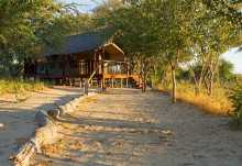 Dinaka Safari Lodge, Zeltchalet