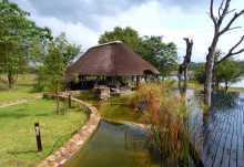 Chitwa Chitwa Lodge, Außengelände  © Foto: Jens Döring | Outback Africa