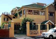 Greenfire Capetown Lodge, Eingangstor