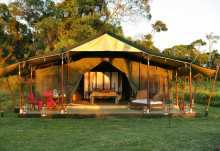 Elephant Pepper Camp, Honeymoon Tent  © Foto: Michael Poliza