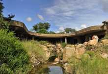 Sabi Sabi Earth Lodge, Außenansicht