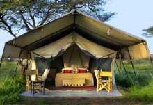 Ubuntu Camp, Zelt