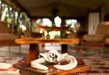 Rekero Camp, Loungedetail