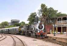 Rovos Bahnhof Capital Park in Pretoria.