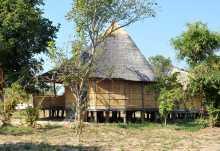 Chalets des Nsolo Bushcamps.  © Foto: Marco Penzel   Outback Africa