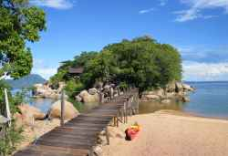 Mumbo Island, Malawi-See  © Foto: Susanne Schlesinger | Outback Africa