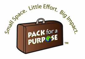Pack for a Purpose Logo mit Koffer  © Foto: Pack for a Purpose