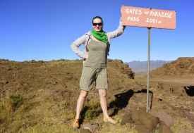 Am Gates of Paradise Pass, Lesotho