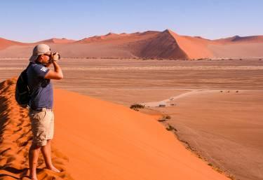 Auf der Düne 45, Sossusvlei  © Foto: Doreen Krausche | Outback Africa Erlebnisreisen