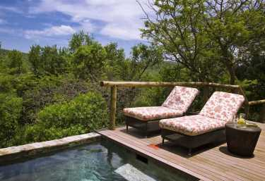 Phinda Mountain Lodge, Poolbereich  © Foto: Beyond
