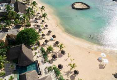 Luftaufnahme des Veranda Pointe aux Biches, Mauritius  © Foto: Veranda Resorts