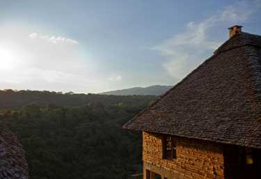 Exploreans Ngorongoro Lodge, Blick ins Tal