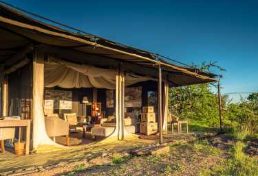 Sanctuary Serengeti Migration Camp, Lounge  © Foto: Sanctuary Retreats