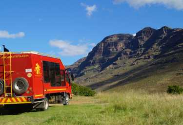 Sunway Truck, Südafrika  © Foto: Alex Peyer | Sunway Safaris