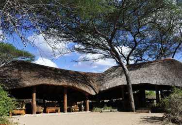 Olivers Camp, Hauptgebäude  © Foto: Svenja Penzel | Outback Africa