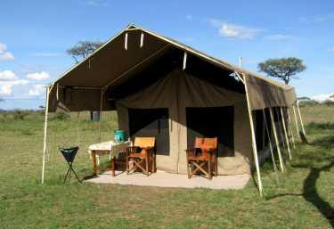 Kati Kati Tented Camp  © Foto: Doreen Schütze | Outback Africa